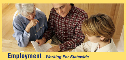 Employment - Working for Statewide